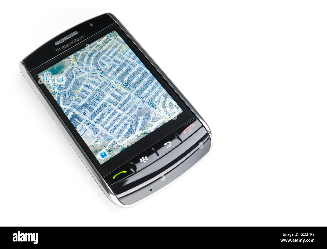 BlackBerry Storm 9530 touch screen smartphone with