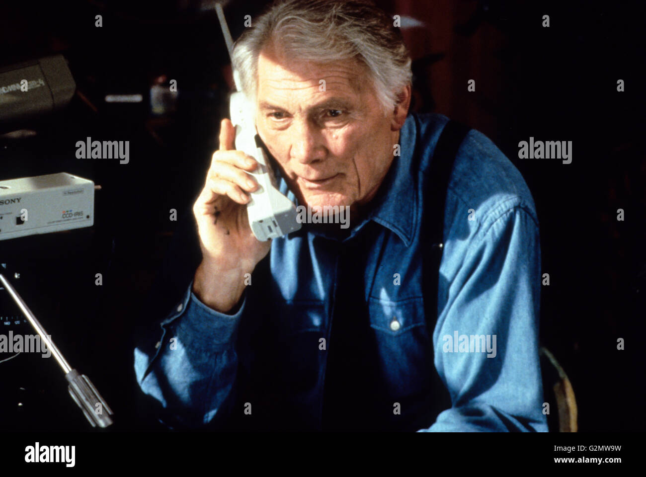 jack palance,cops and robbersons - Stock Image