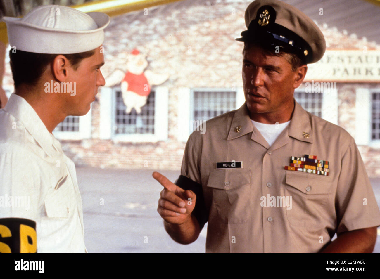 william mcnamara,tom berenger,chasers - Stock Image
