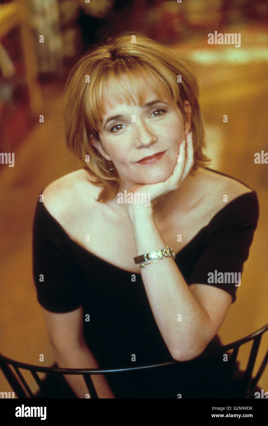 lea thompson,caroline in the city - Stock Image