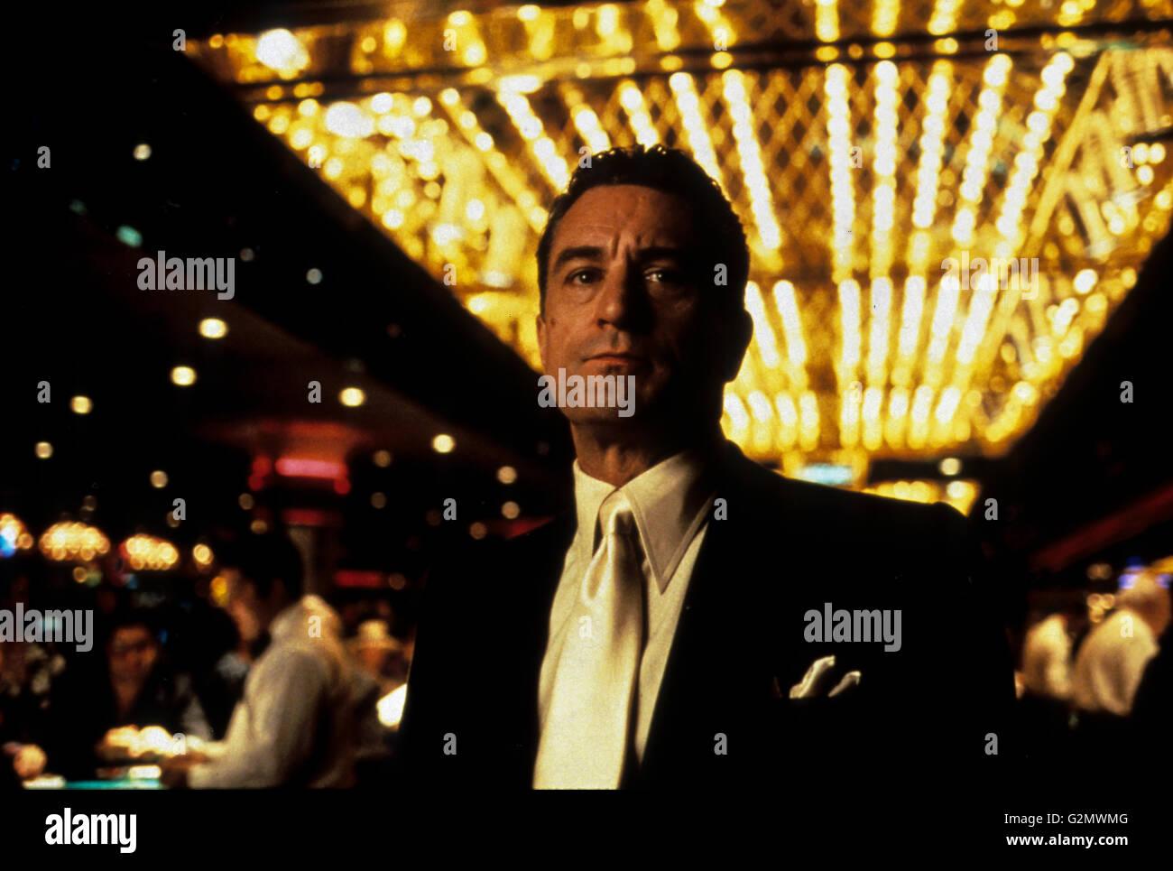 robert de niro,casino - Stock Image