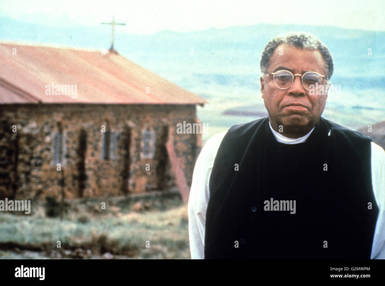 james earl jones,cry,the beloved country - Stock Image