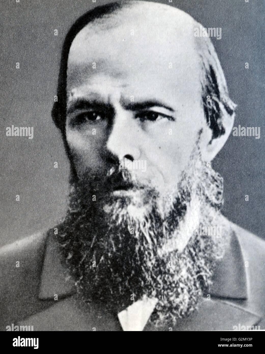 Fyodor Mikhailovich Dostoyevsky - Stock Image