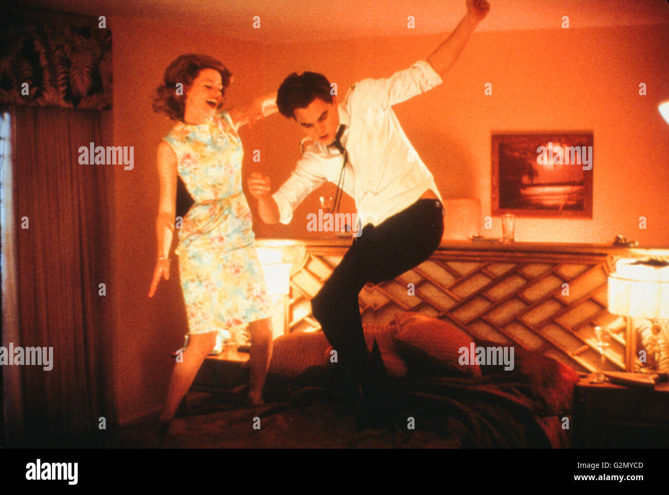 amy adams,leonardo di caprio,catch me if you can,2002 - Stock Image