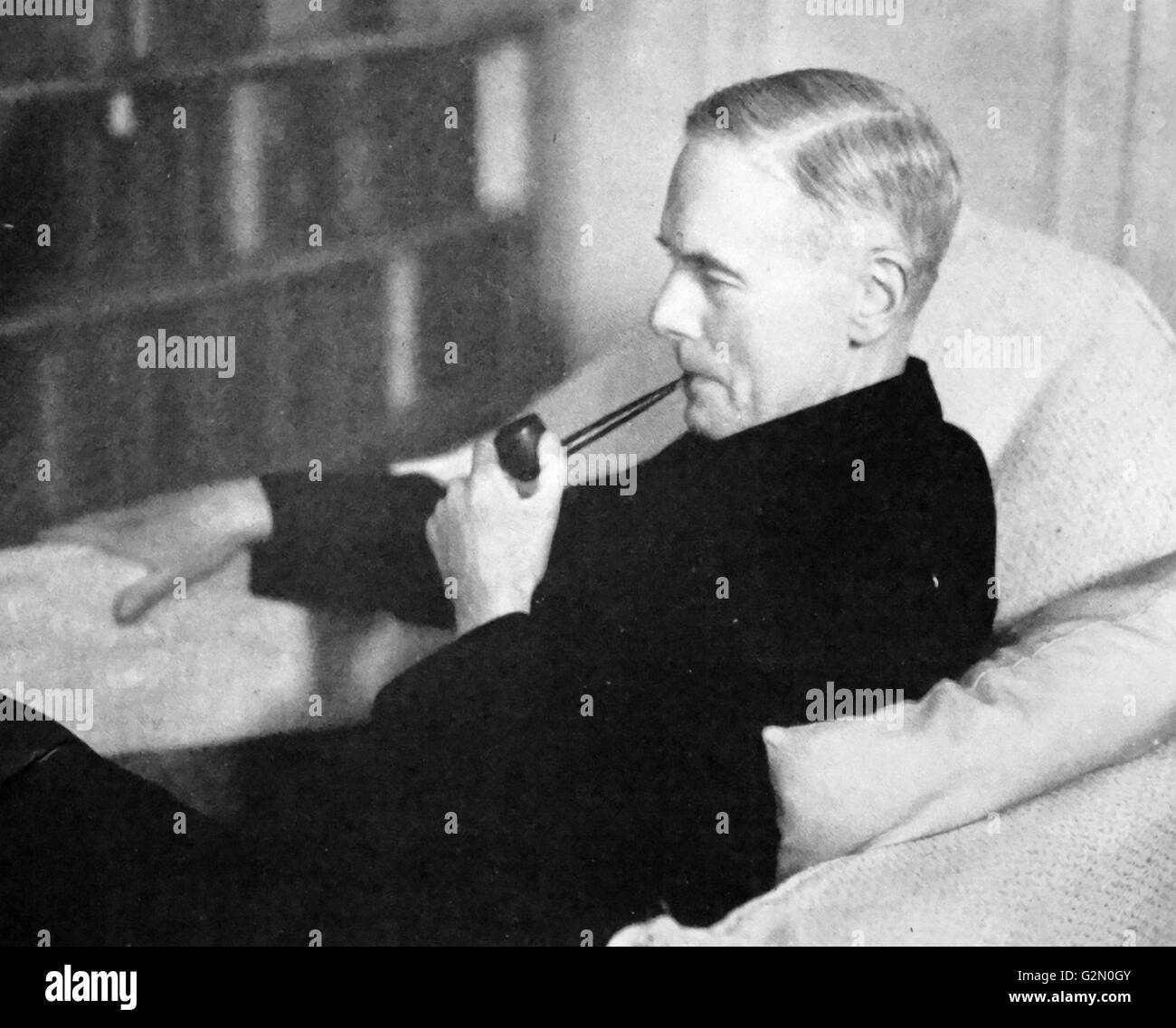 Sir Reginald Coupland, (1884 – 1952) historian - Stock Image