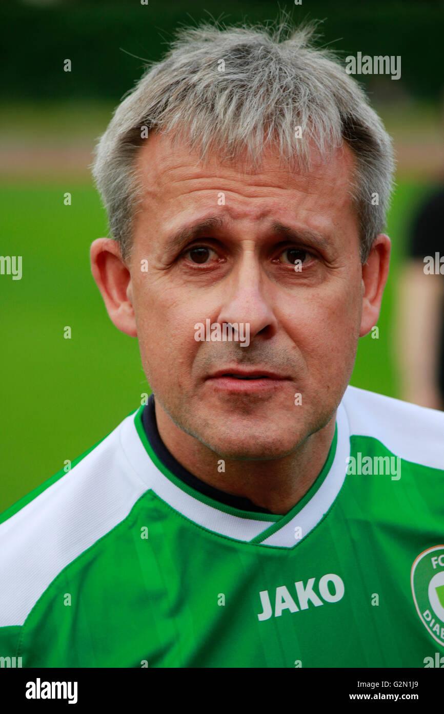 Pierre Littbarski - Benefiz-Fussballspiel 'FC Diabetologie gegen FC Bundestag' fuer eine Aufklaerunskampagne - Stock Image