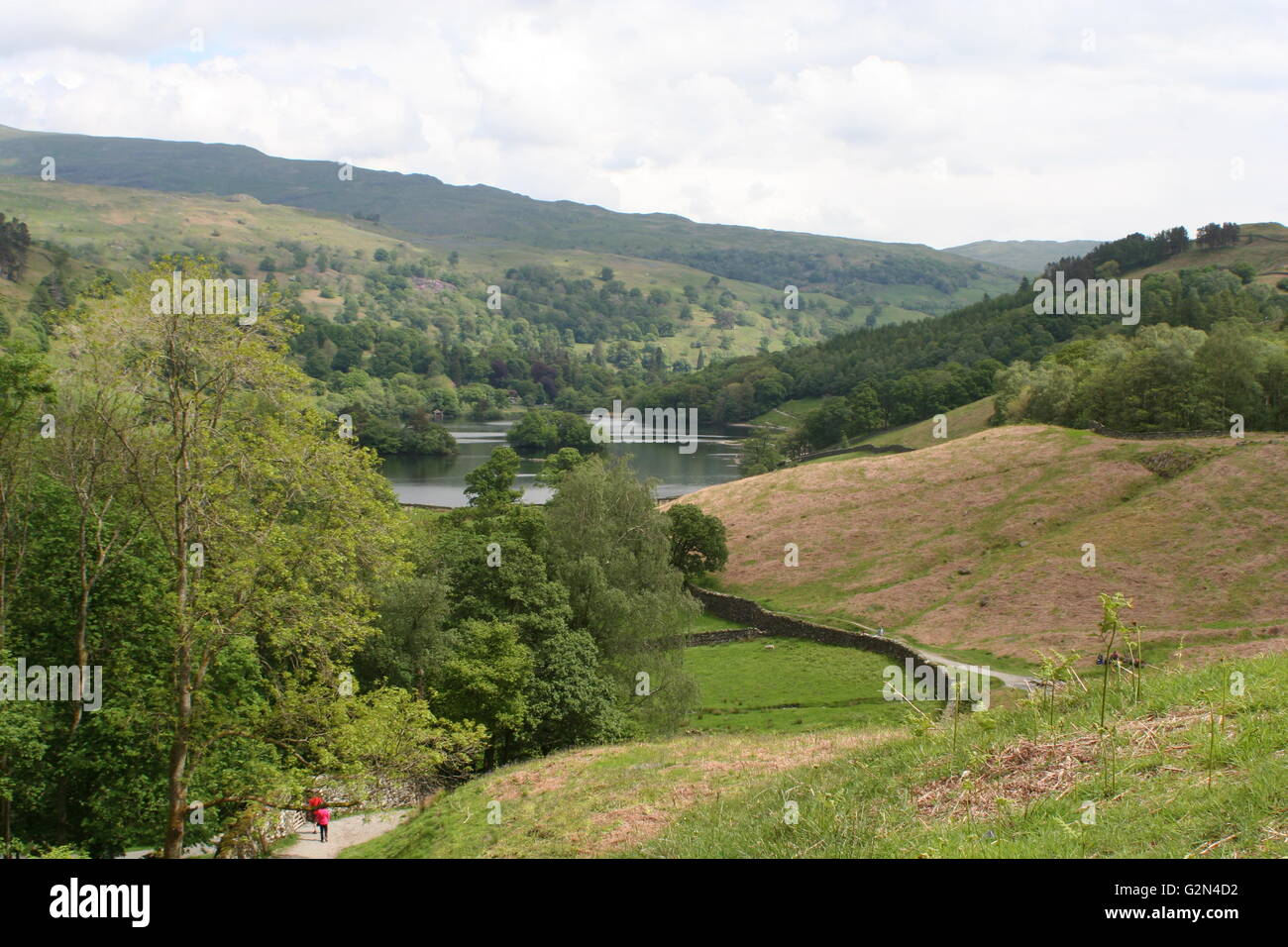 Rydal Water - Stock Image
