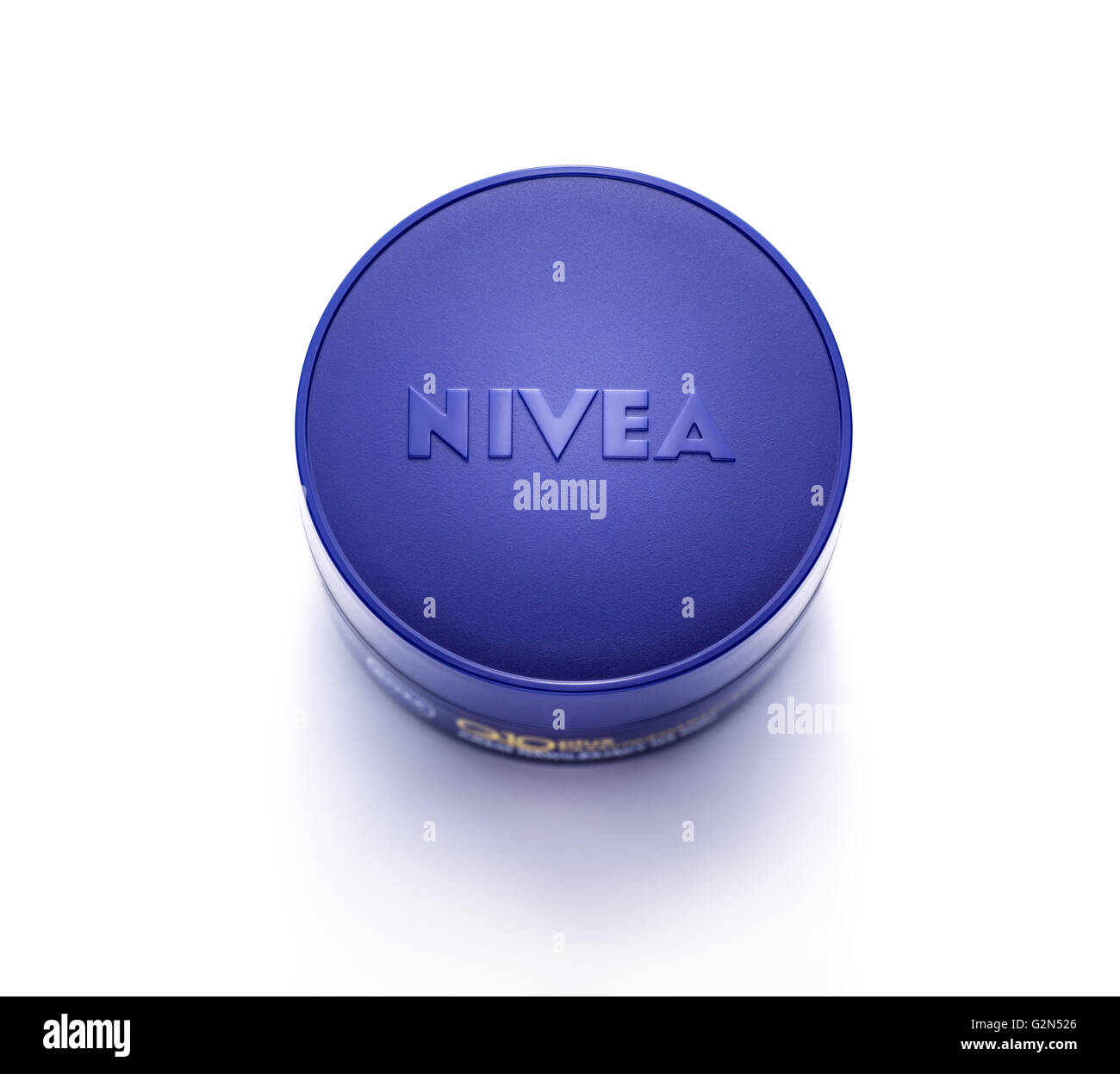 Anti-wrinkle cream Nivea q10. - Stock Image