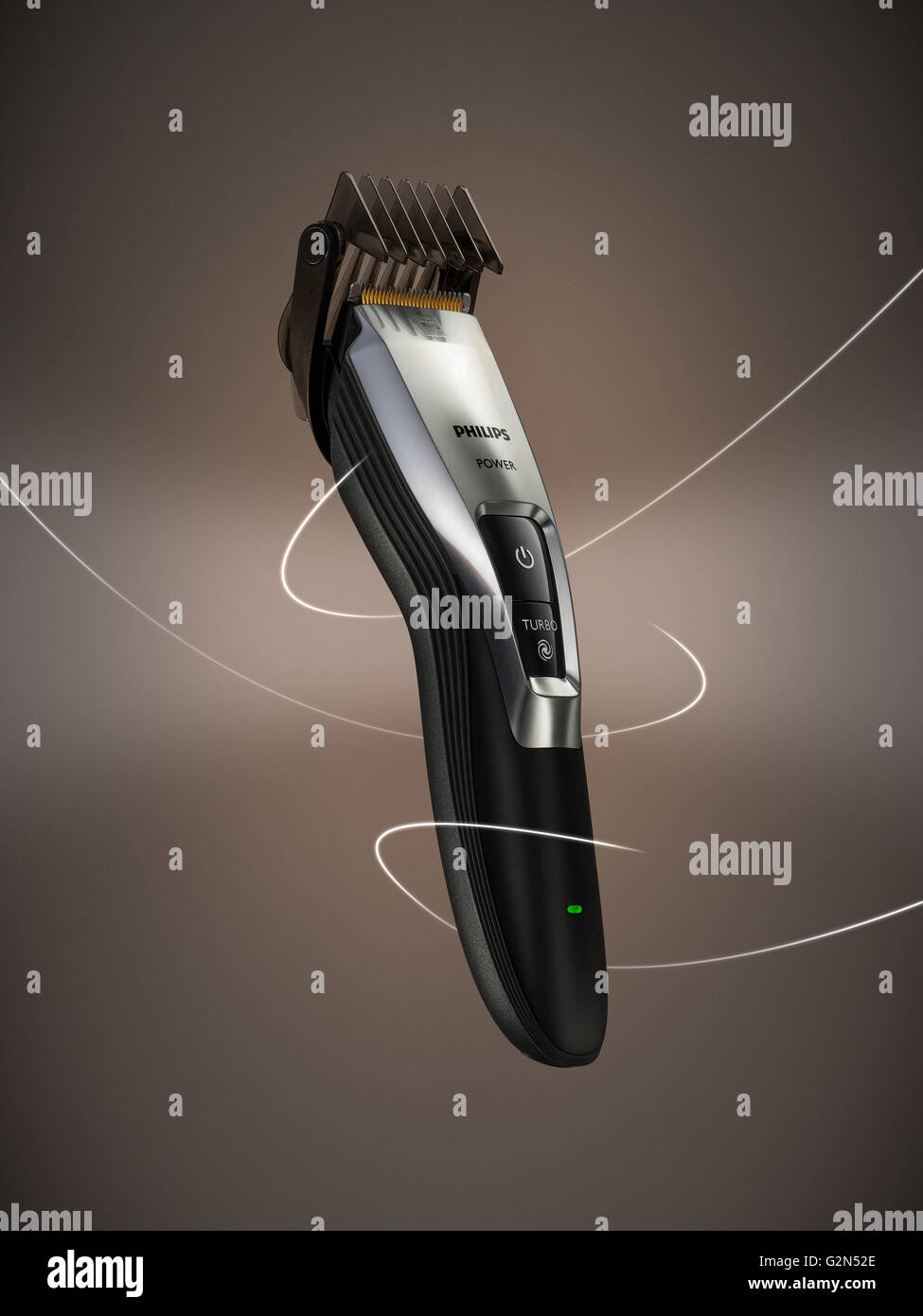 Philips trimmer. - Stock Image