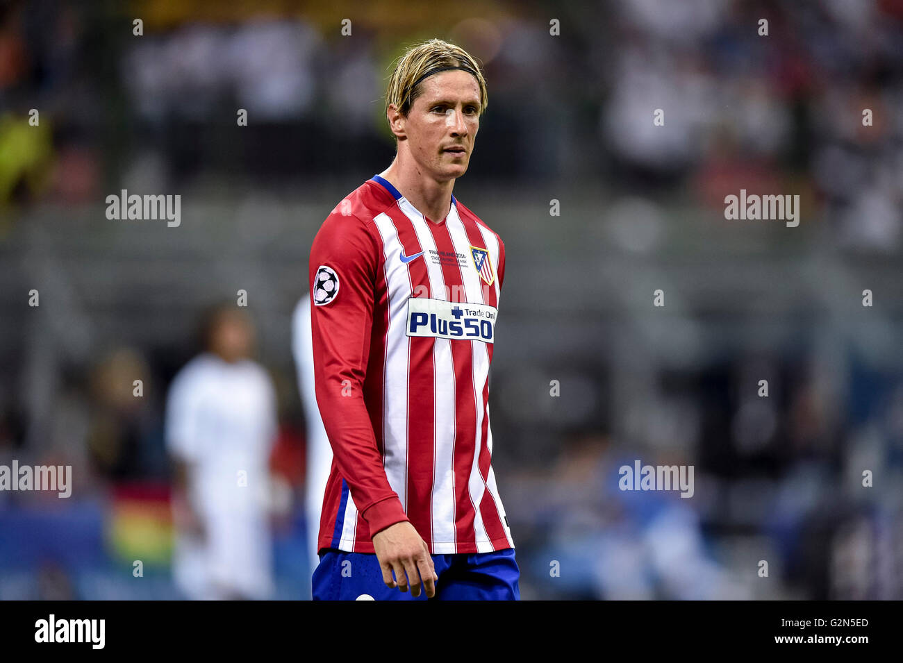 Fernando Torres Of Atletico Madrid During The Uefa Champions League Final Between Real Madrid And Atletico Madrid Atletico Madr Stock Photo Alamy