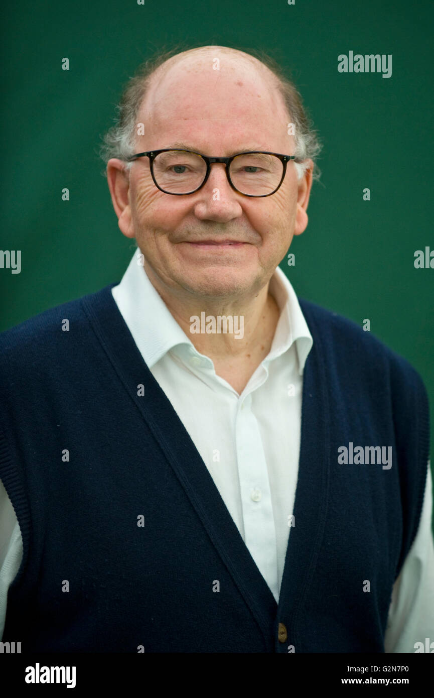 Richard Holmes author & academic pictured at Hay Festival 2016 - Stock Image