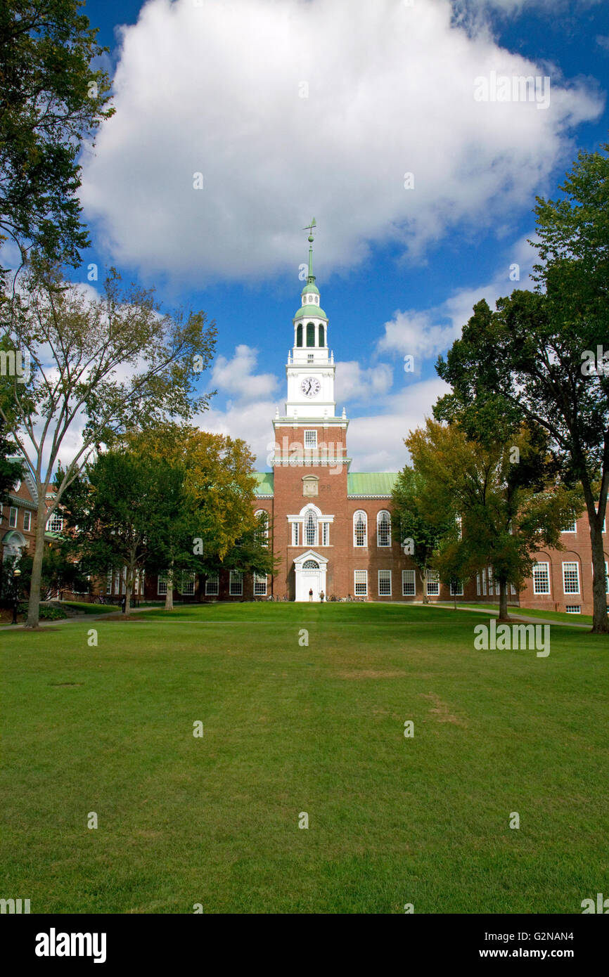 The Baker-Berry Library at Dartmouth College in Hanover, New Hampshire, USA. Stock Photo
