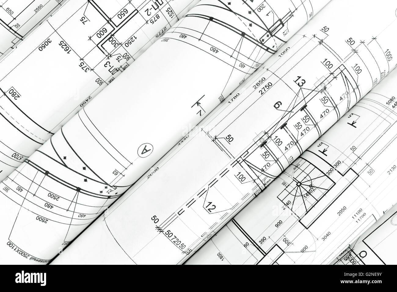 Architecture blueprints architecture blueprints architecture rolls of architecture blueprints malvernweather Images