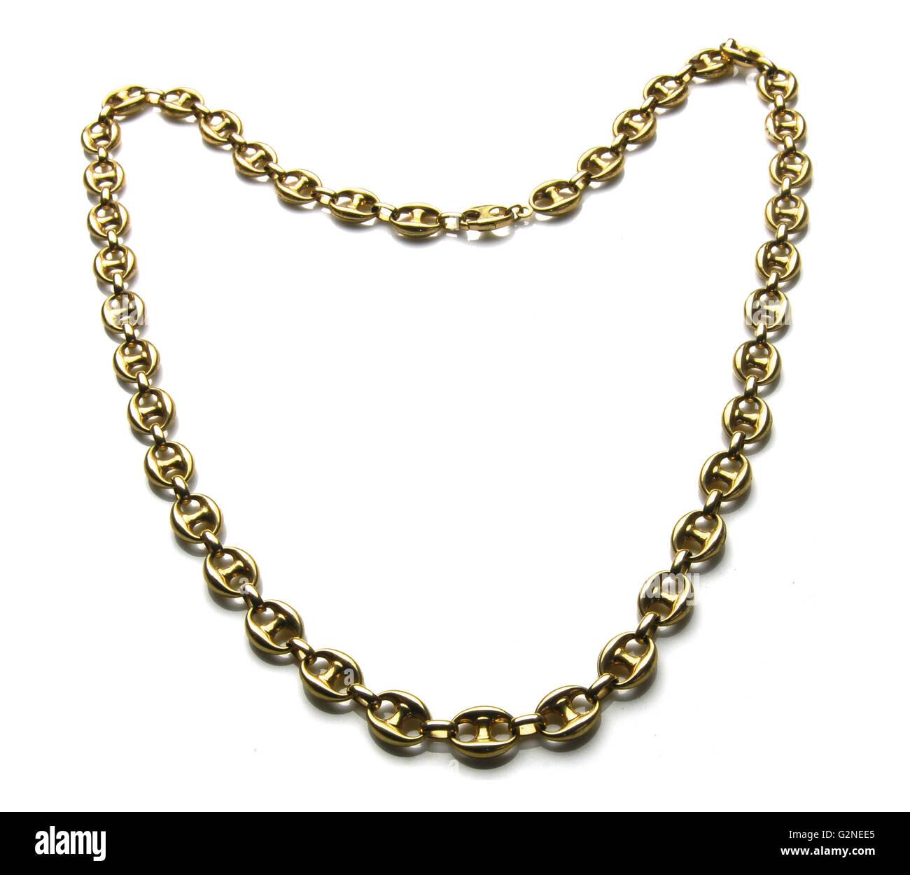 440a3e8d21c5 Gold Chain Necklace Stock Photos   Gold Chain Necklace Stock Images ...