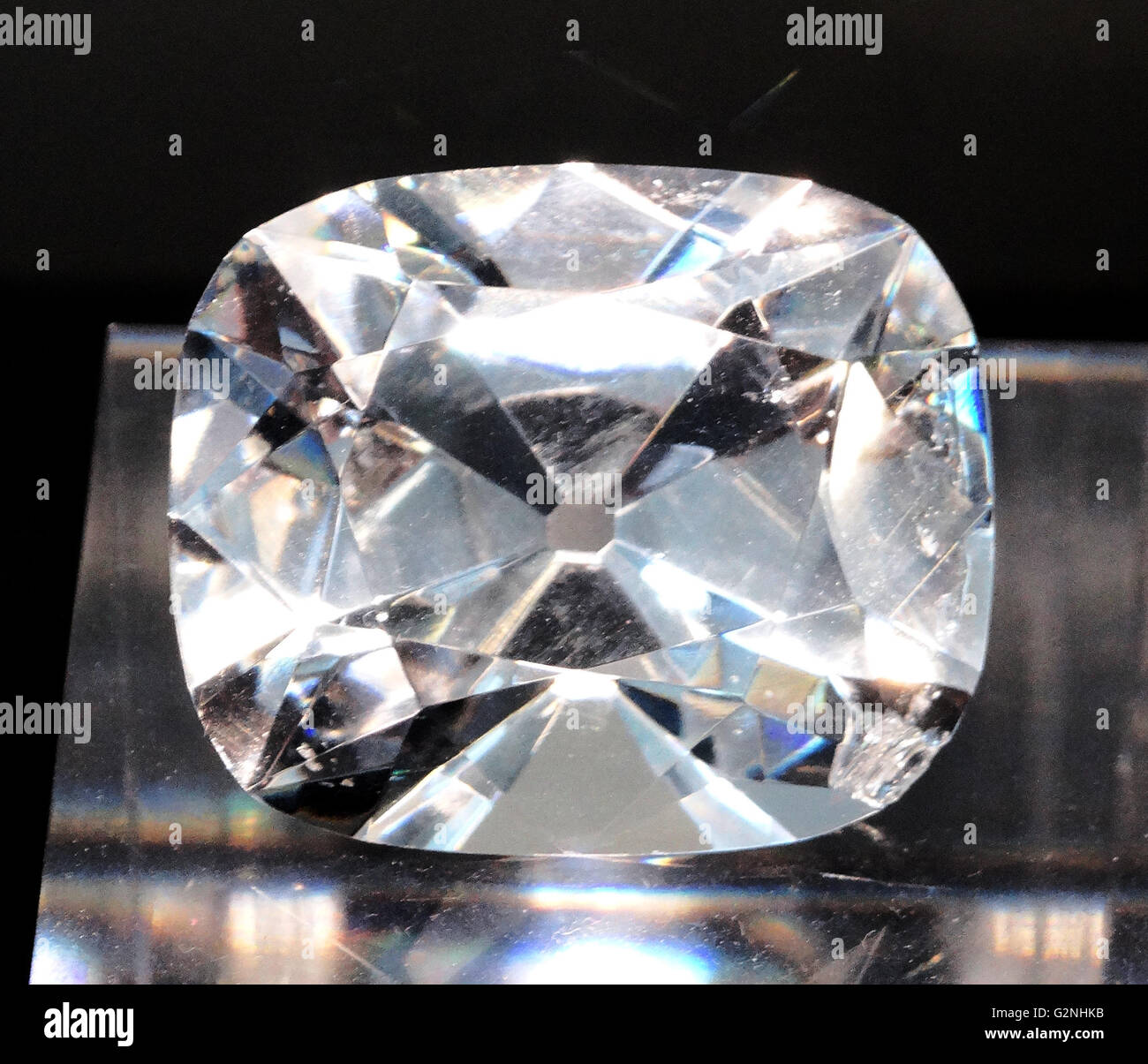 The Regent Diamond - Stock Image