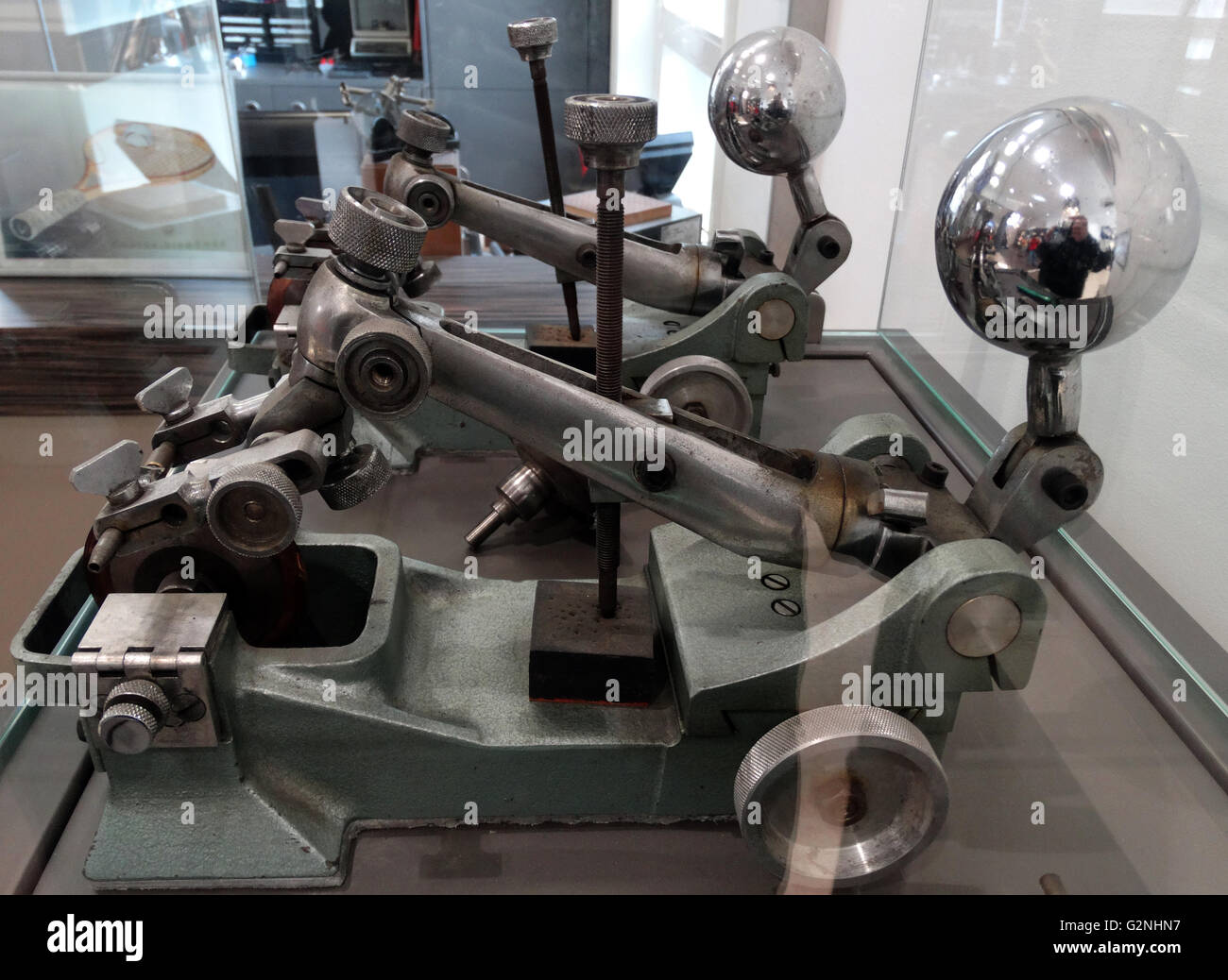 Photograph of The Phospho, used to saw diamonds - Stock Image
