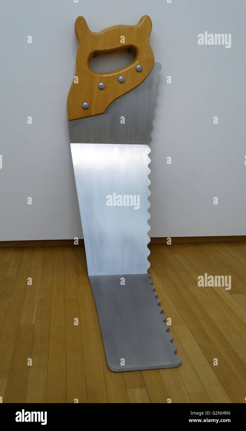Claes Oldenburg, Saw - Hard Version II, 1970-1971 - Stock Image