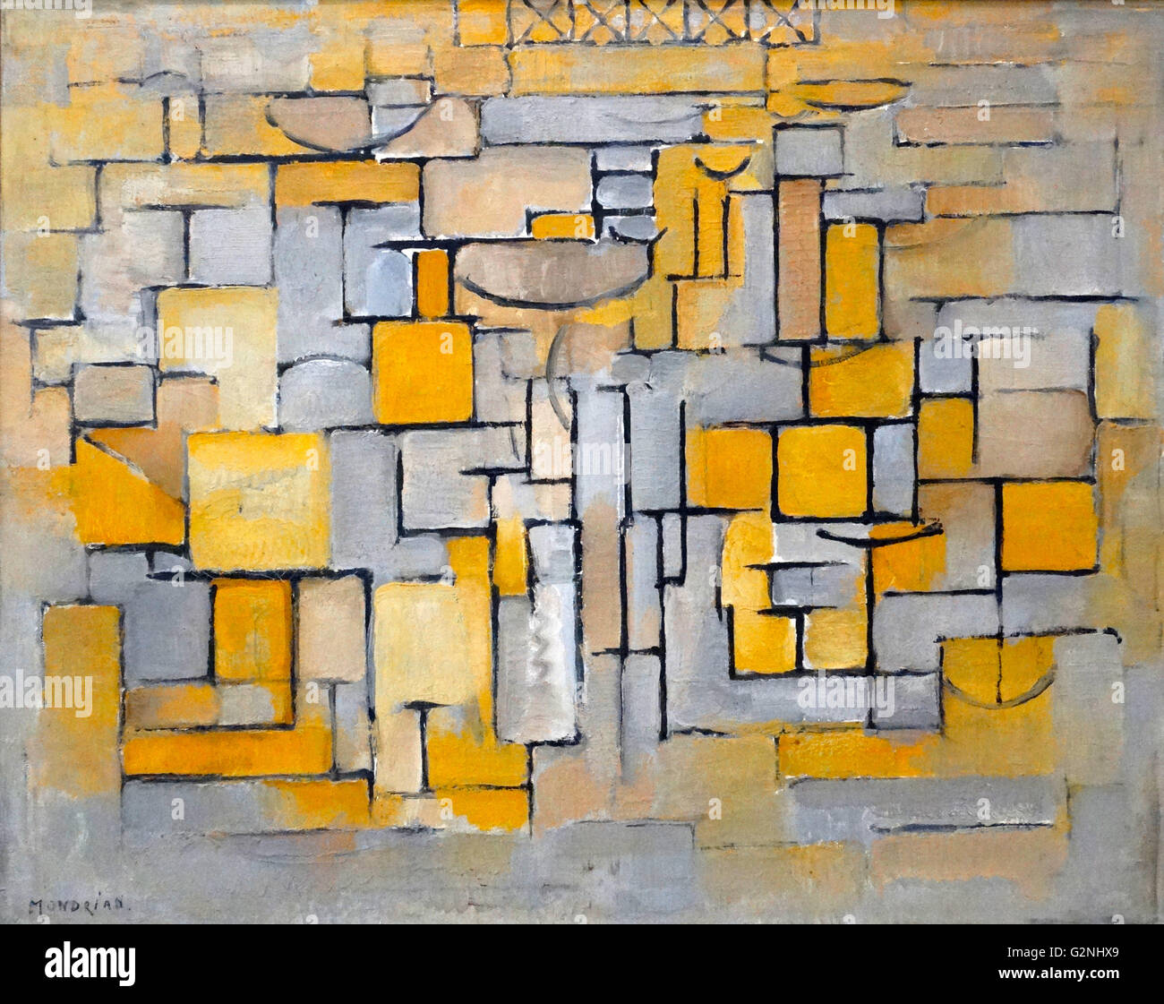 Painting No 8 by Piet Mondrian Stock Photo: 104966577 - Alamy