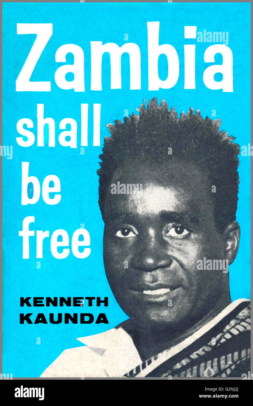 Kenneth Kaunda, (1924- ), served as the first President of Zambia, from 1964 to 1991. - Stock Image