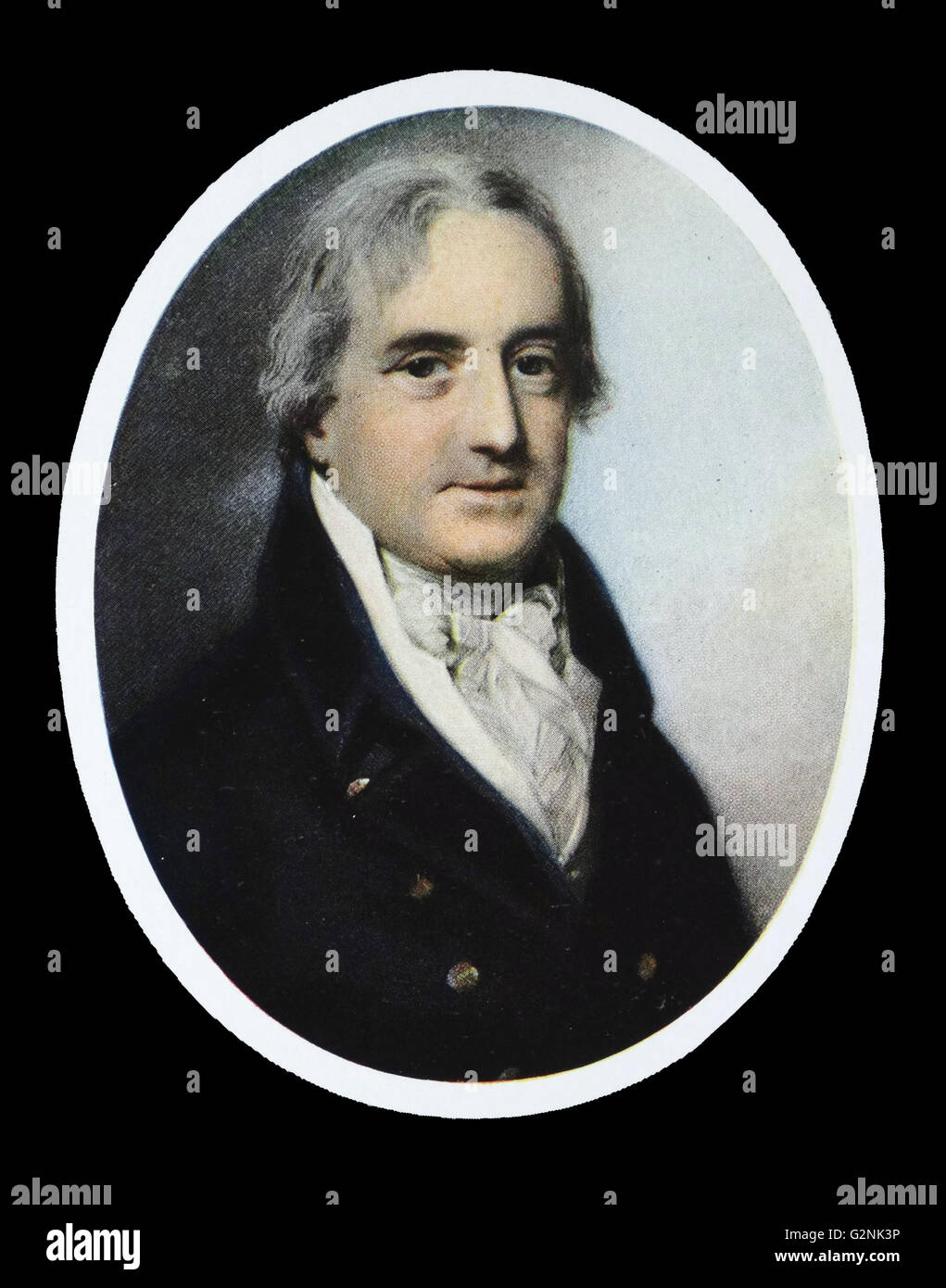 Earl Beauchamp by George Engleheart (1750-1829) - Stock Image