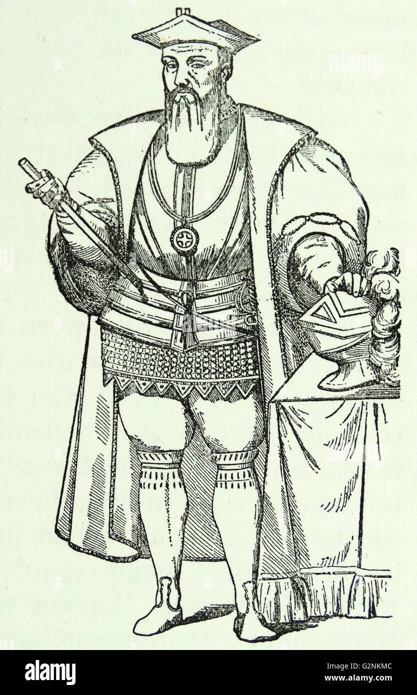 Vasco Da Gama. - Stock Image