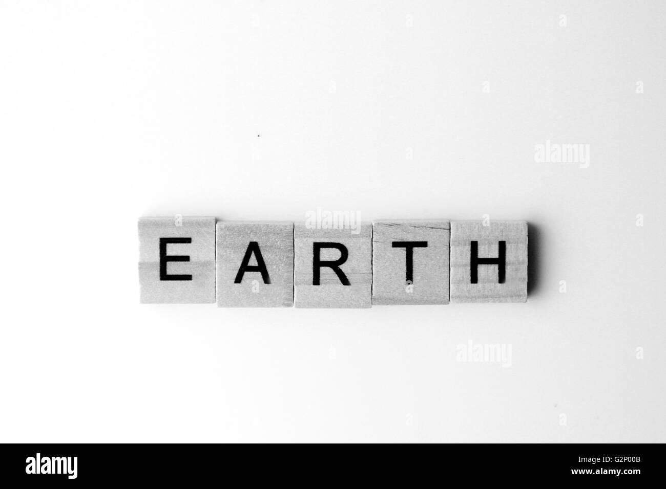 Planet Order from the Sun; Mercury, Venus, Earth, Mars, Jupiter, Saturn, Uranus and Neptune. - Stock Image
