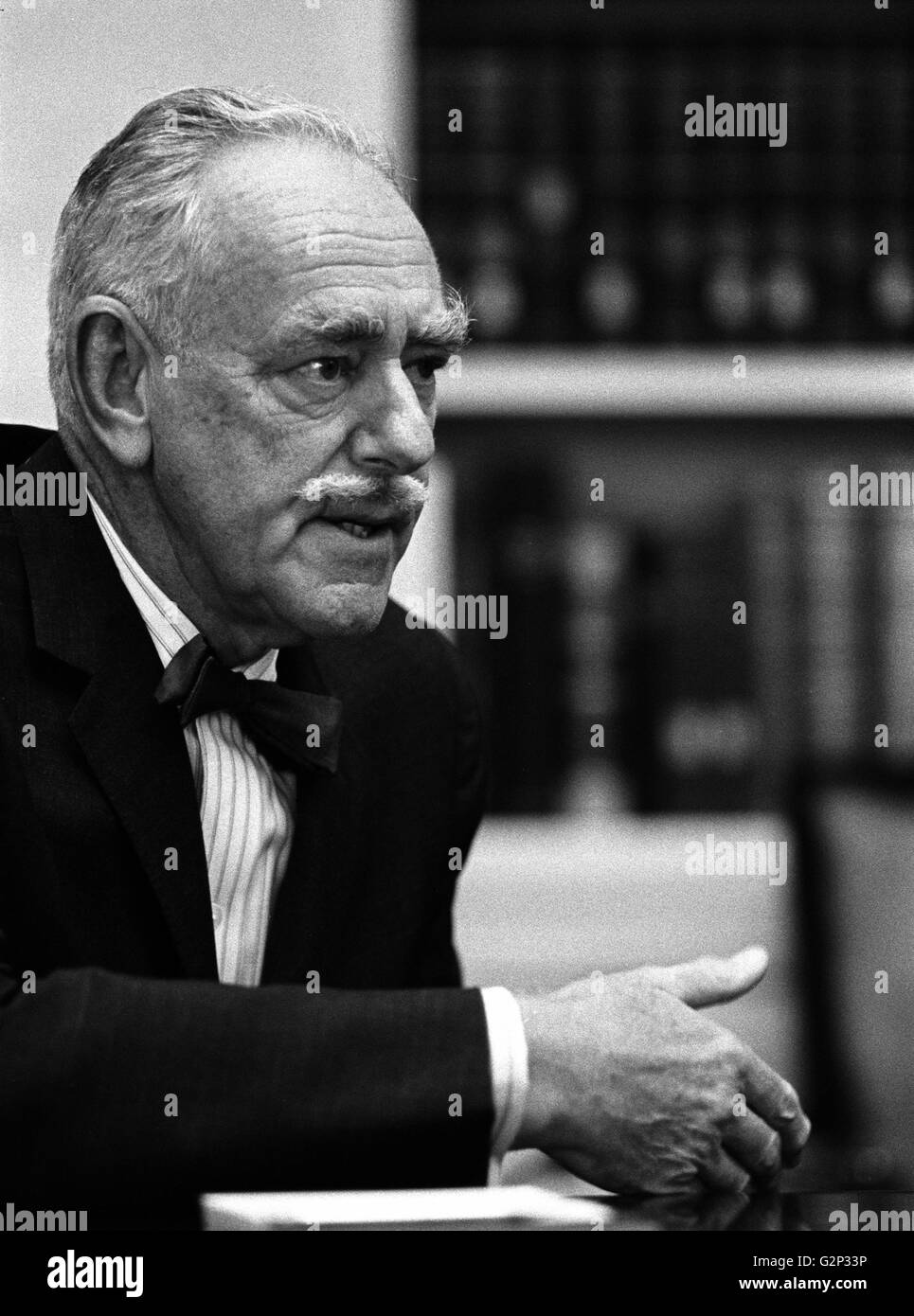 Photograph of Dean Acheson. - Stock Image