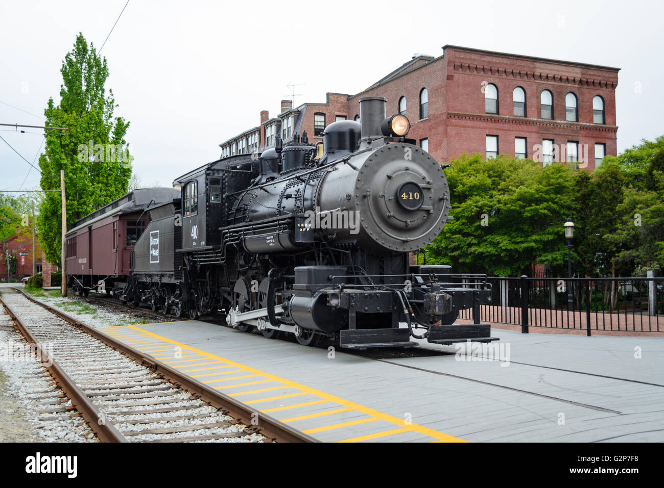Lowell National Historical Park - Stock Image