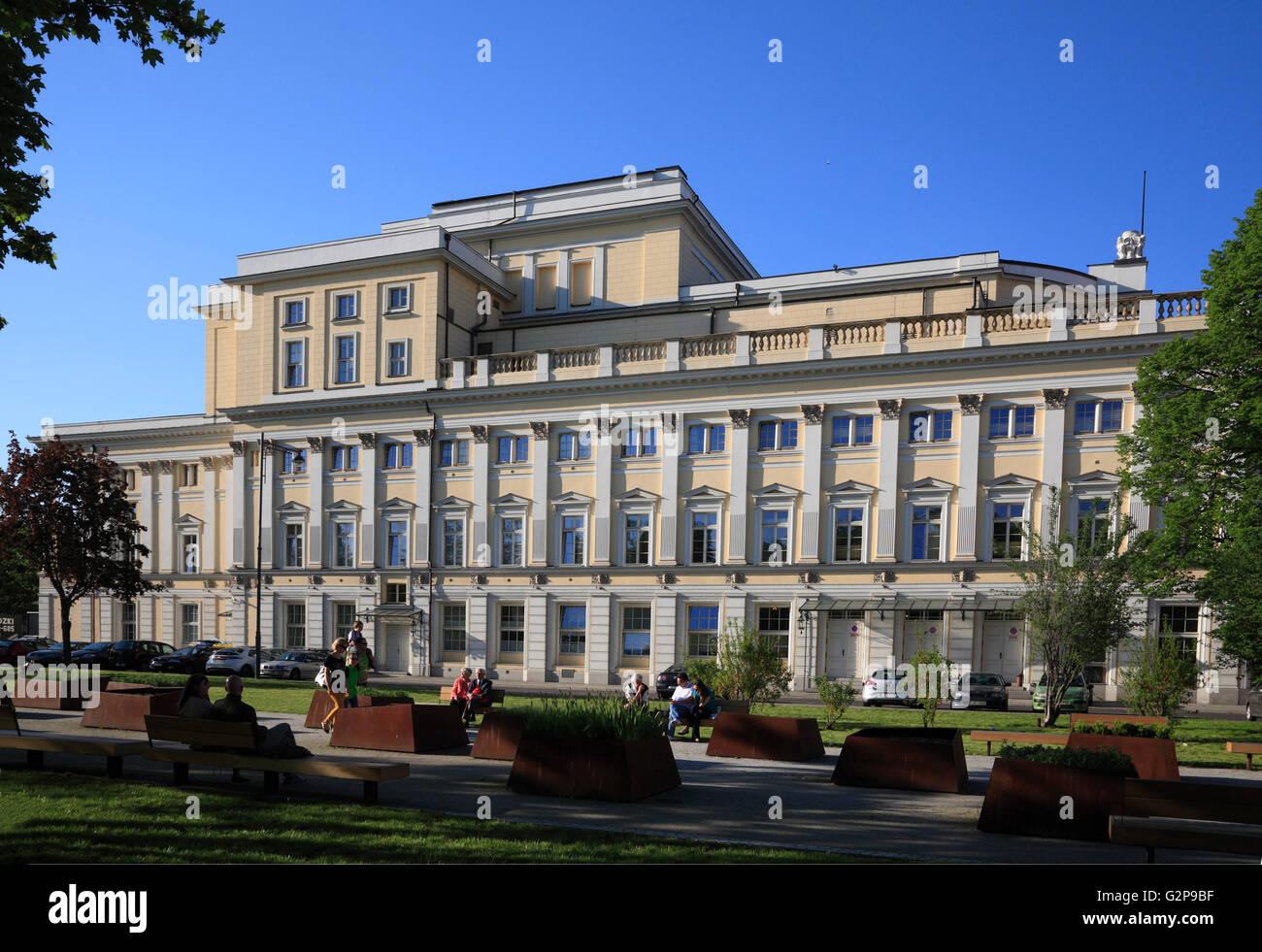 Opera, Wroclaw, Silesia, Poland, Europe - Stock Image