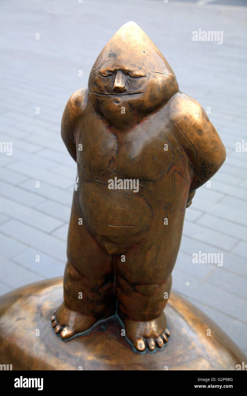 Dwarf, Wroclaw, Silesia, Poland, Europe - Stock Image