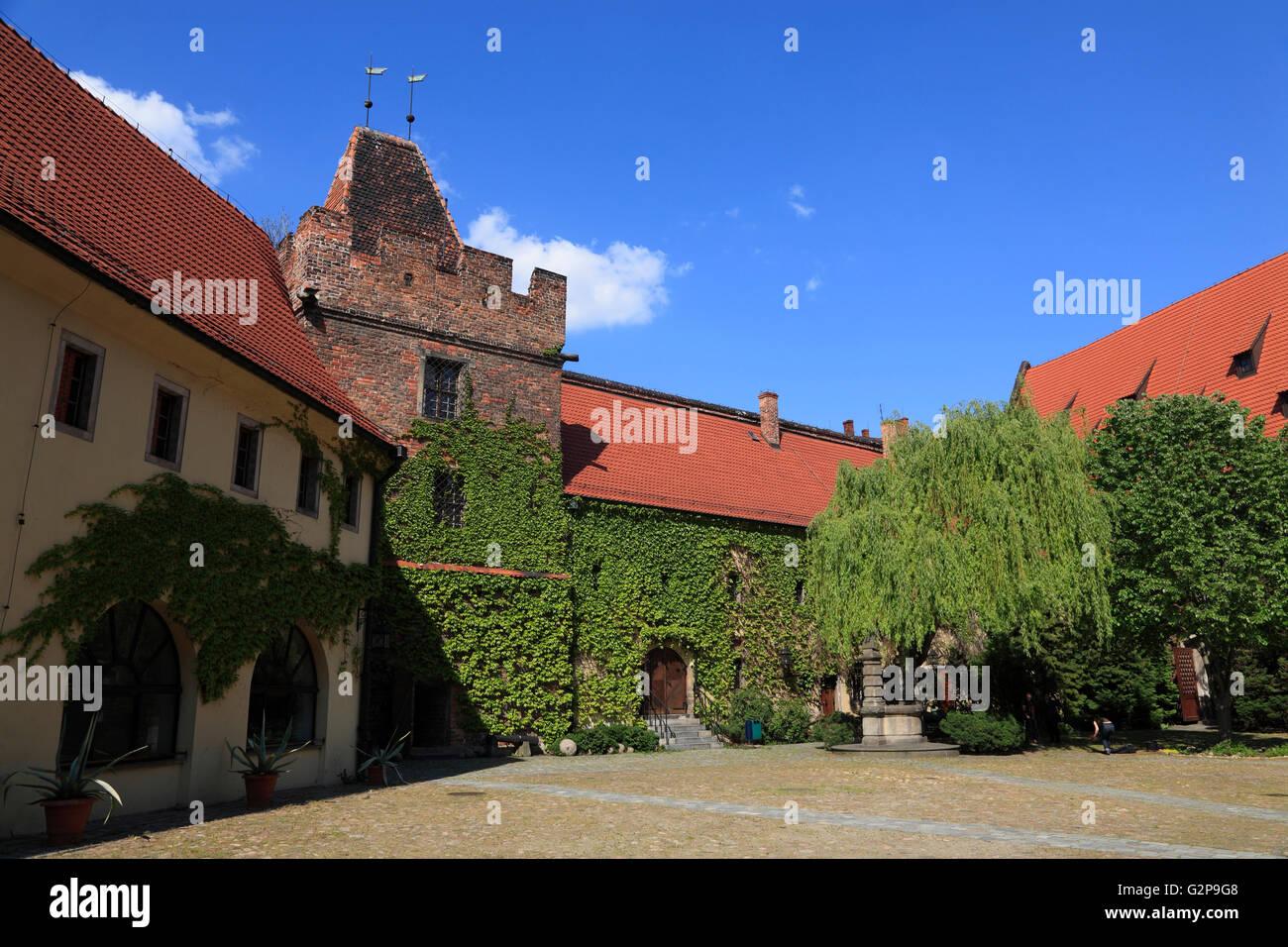 Arsenal, militaria Museum, Wroclaw, Silesia, Poland, Europe - Stock Image