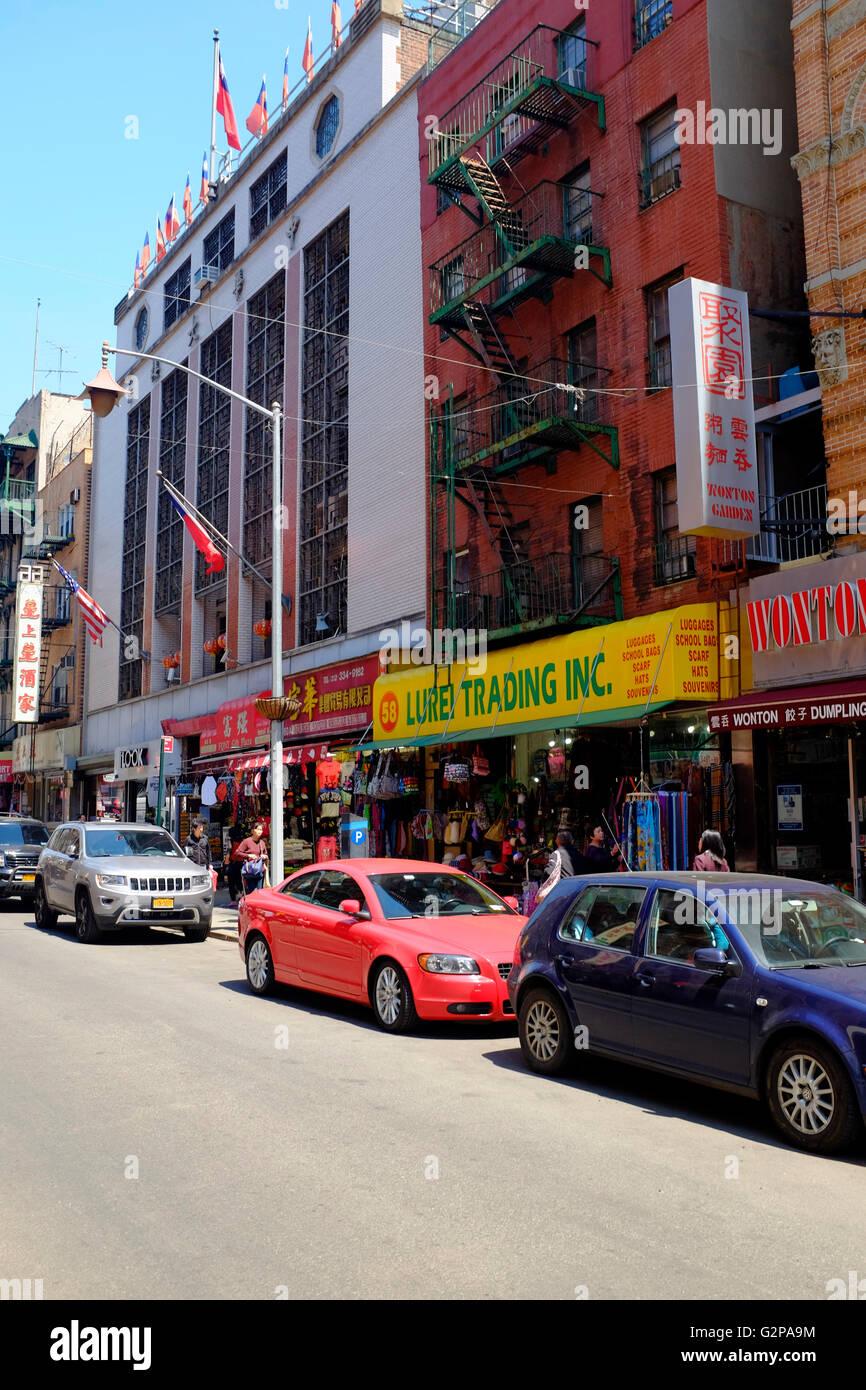 China Town, Manhattan, New York City, USA Stock Photo