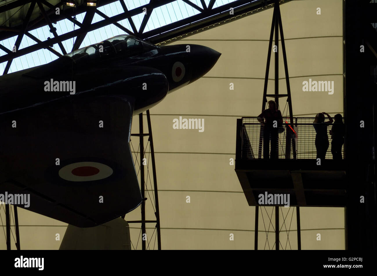 Royal Air Force Museum. Cosford. Shifnal, Shropshire. England. UK. Europe - Stock Image