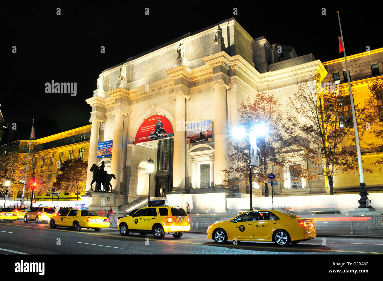 The renovated American Museum of Natural History, Manhattan, New York City, New York, United States - Stock Image