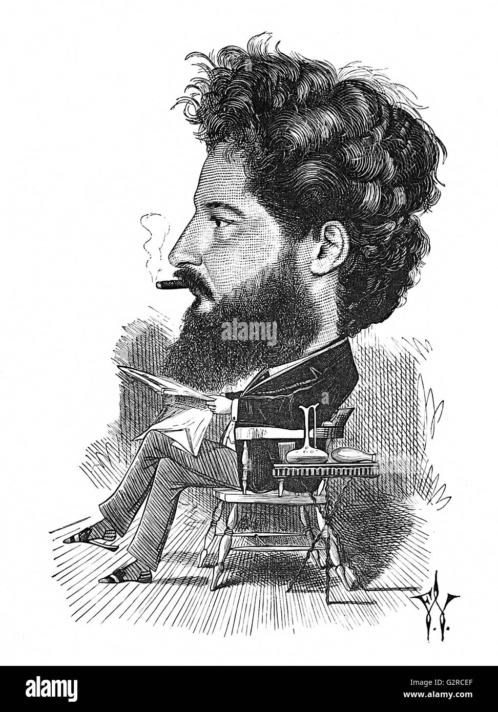 William Morris Stock Photo