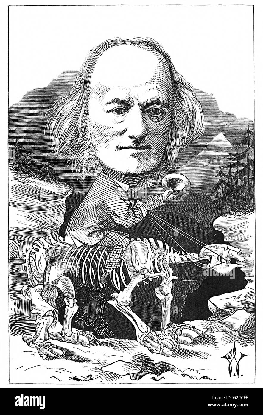 Richard Owen Stock Photo
