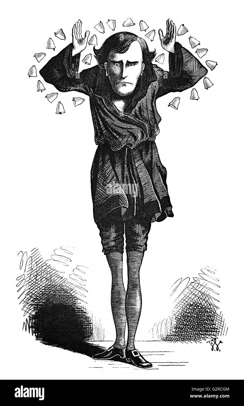 Henry Irving - Stock Image