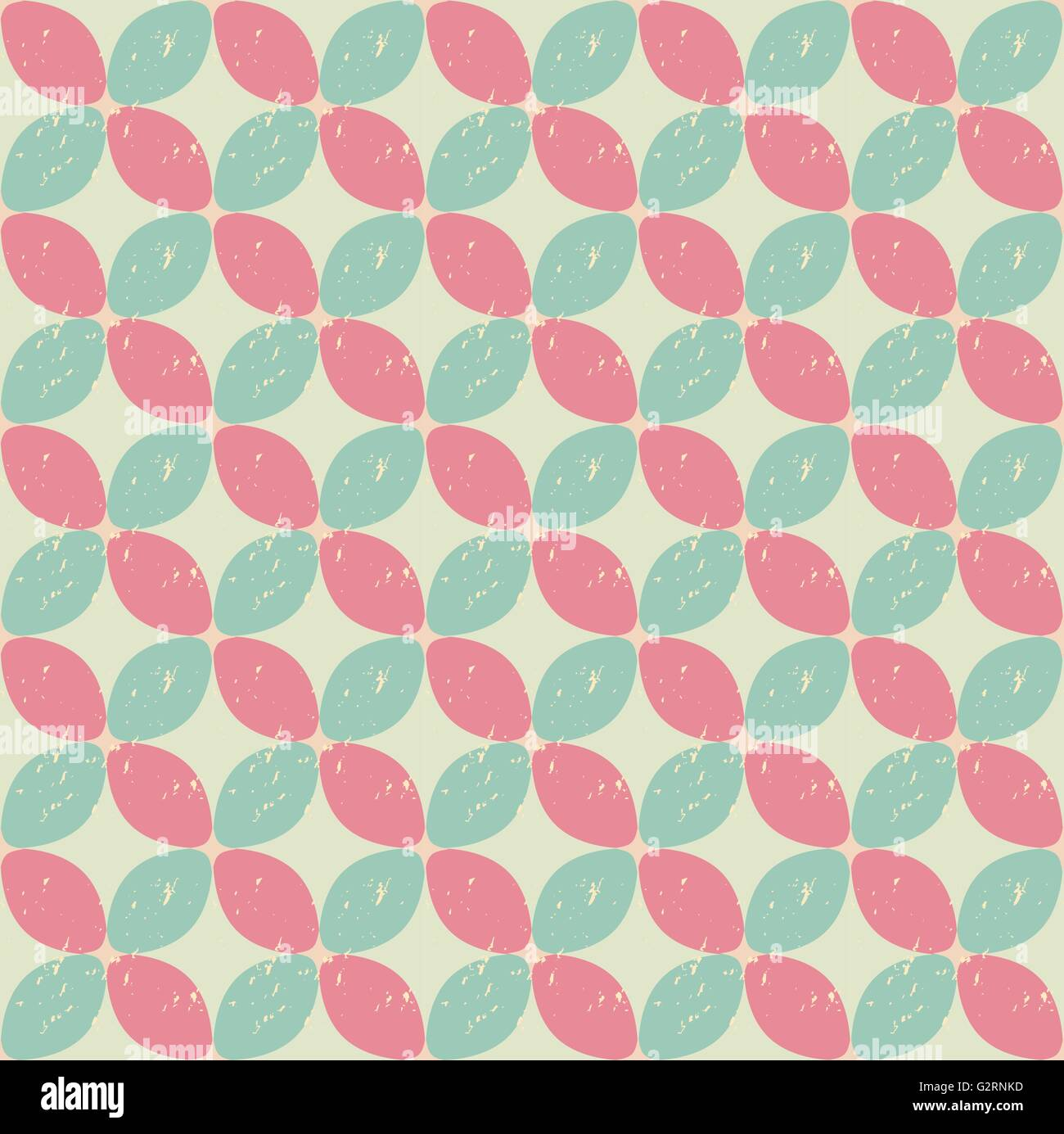 Vintage Flower Pattern Seamless Grunge Design Swatches Vector Endless Texture Can Be Used For Wallpaper F