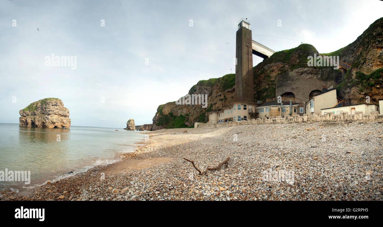 Marsden beach and grotto pub / The Leas, South Shields ...
