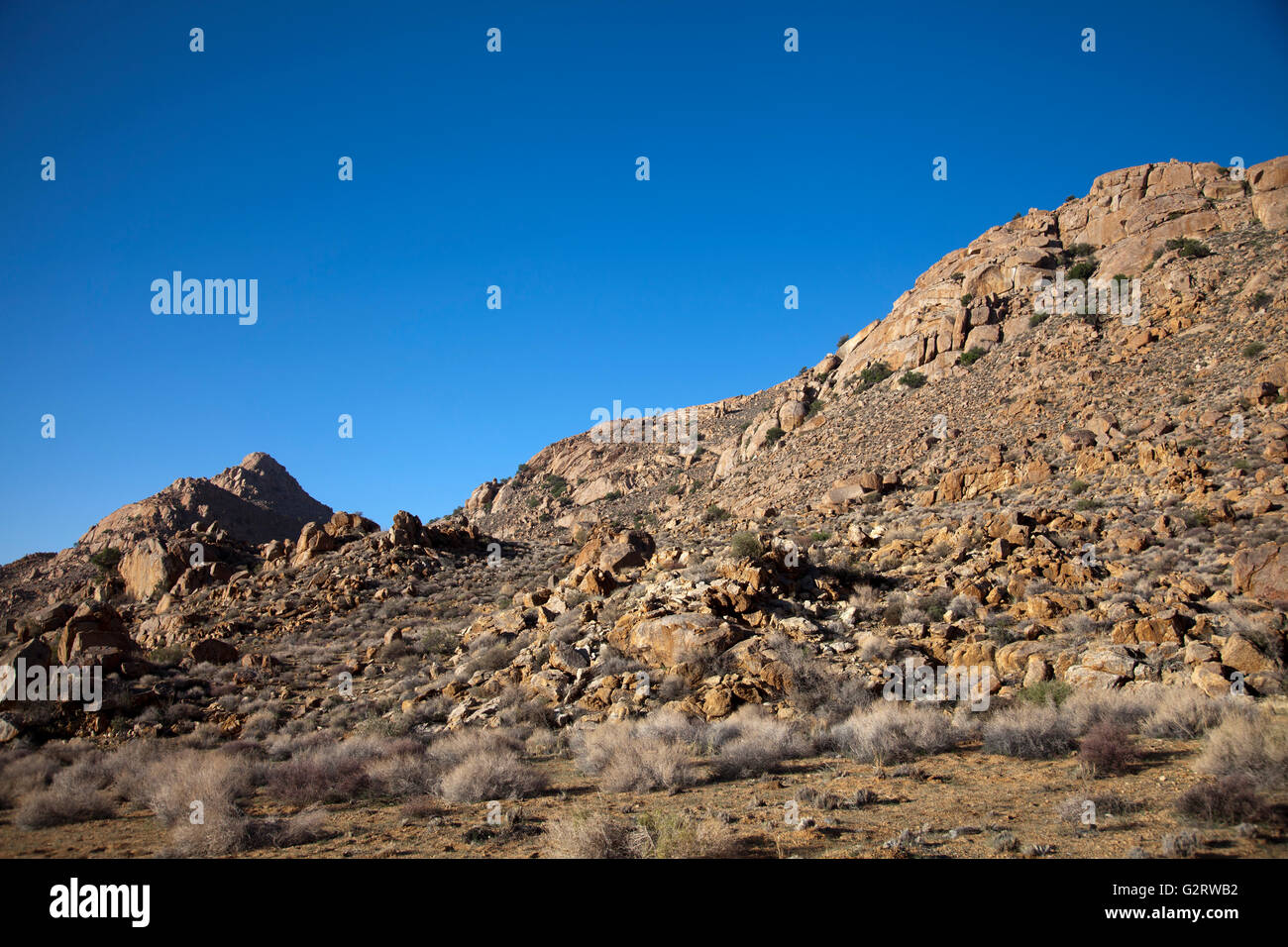 Klein Aus Vista Landscape in Namibia - Stock Image