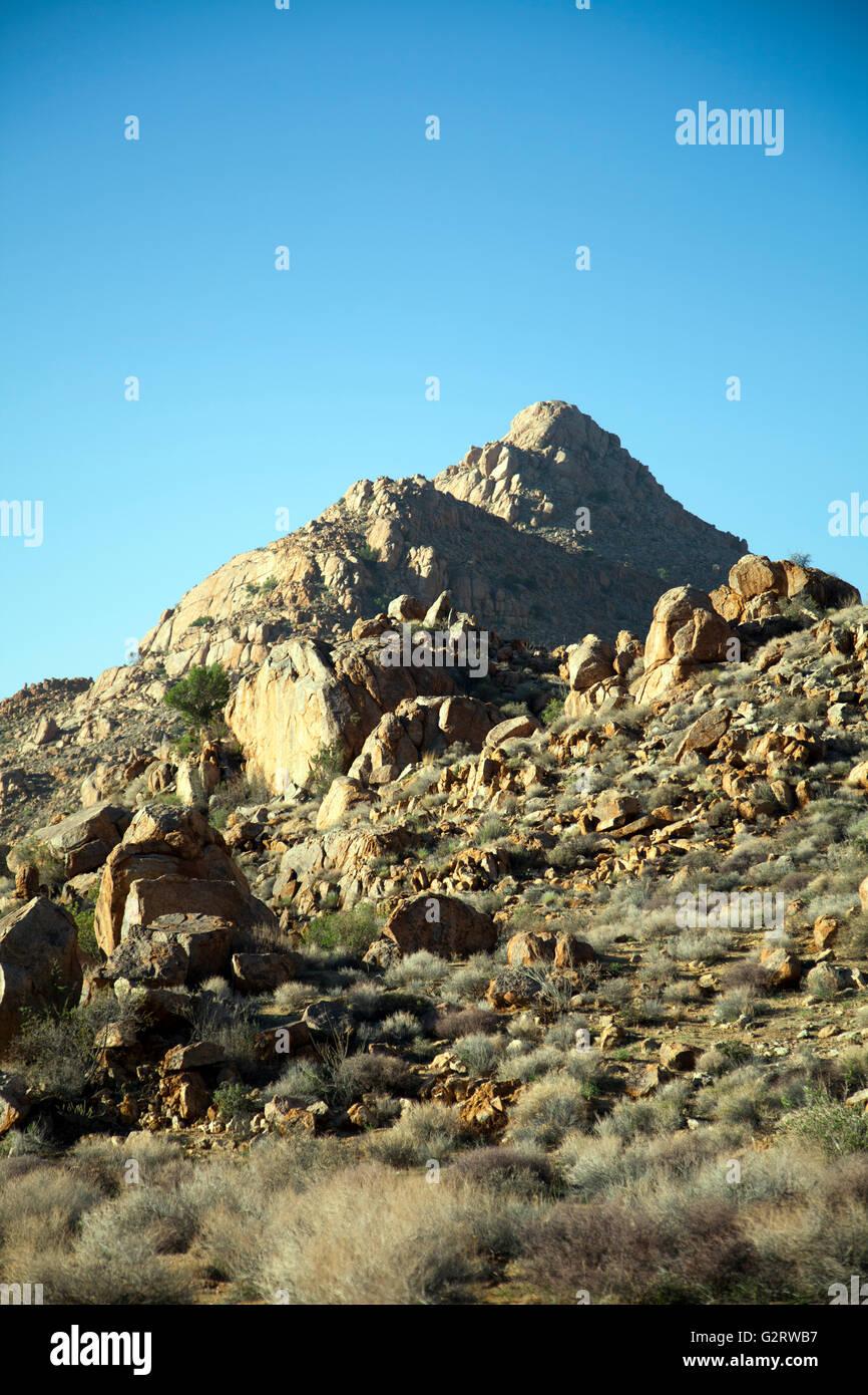 Aus Mountains at Klein Aus Vista in Namibia - Stock Image