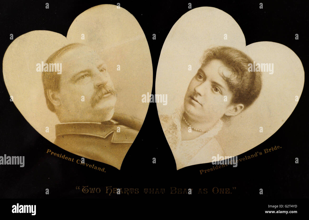 Grover Cleveland Marriage In White House High Resolution Stock Photography And Images Alamy