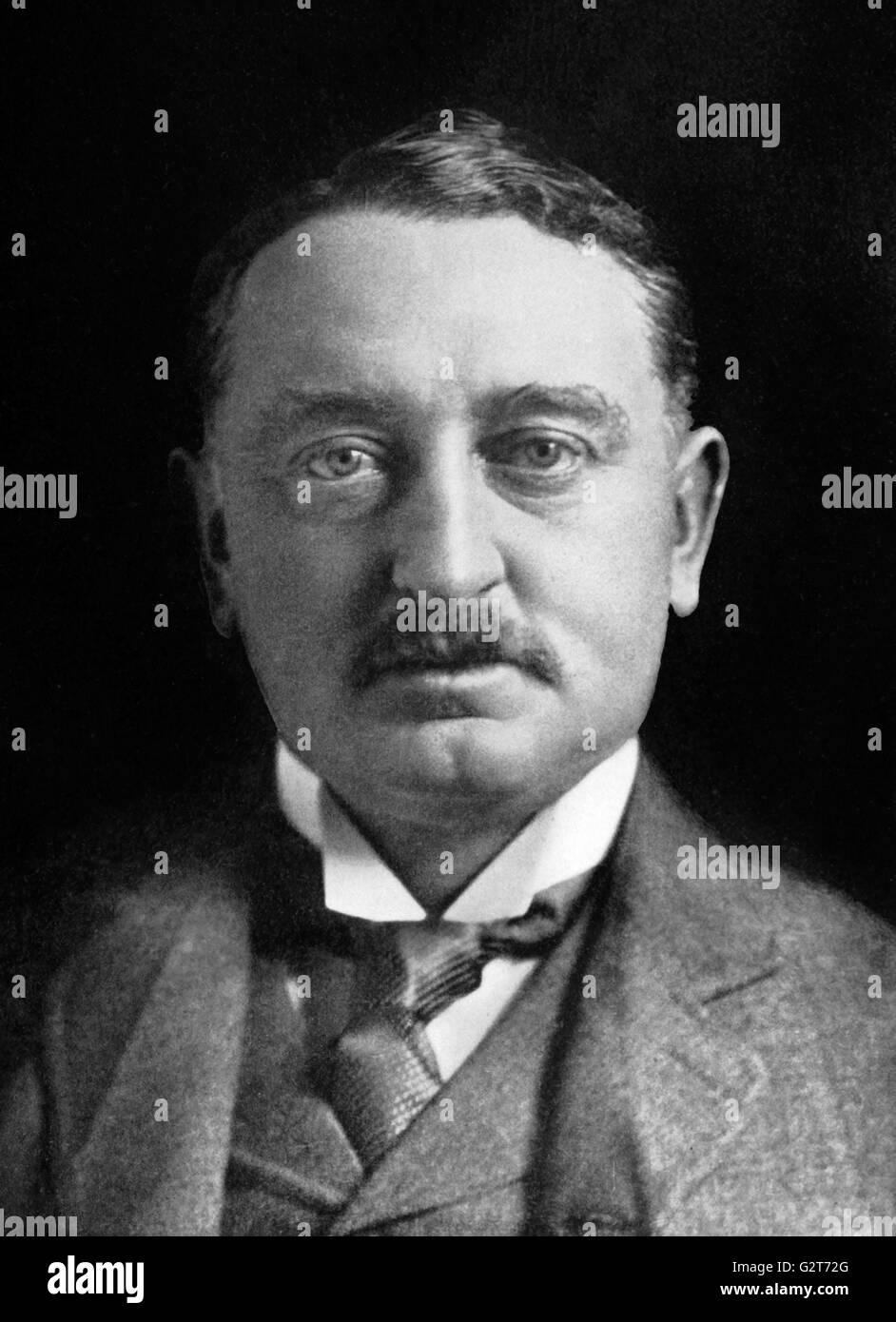 Cecil Rhodes, portrait c.1900 - Stock Image