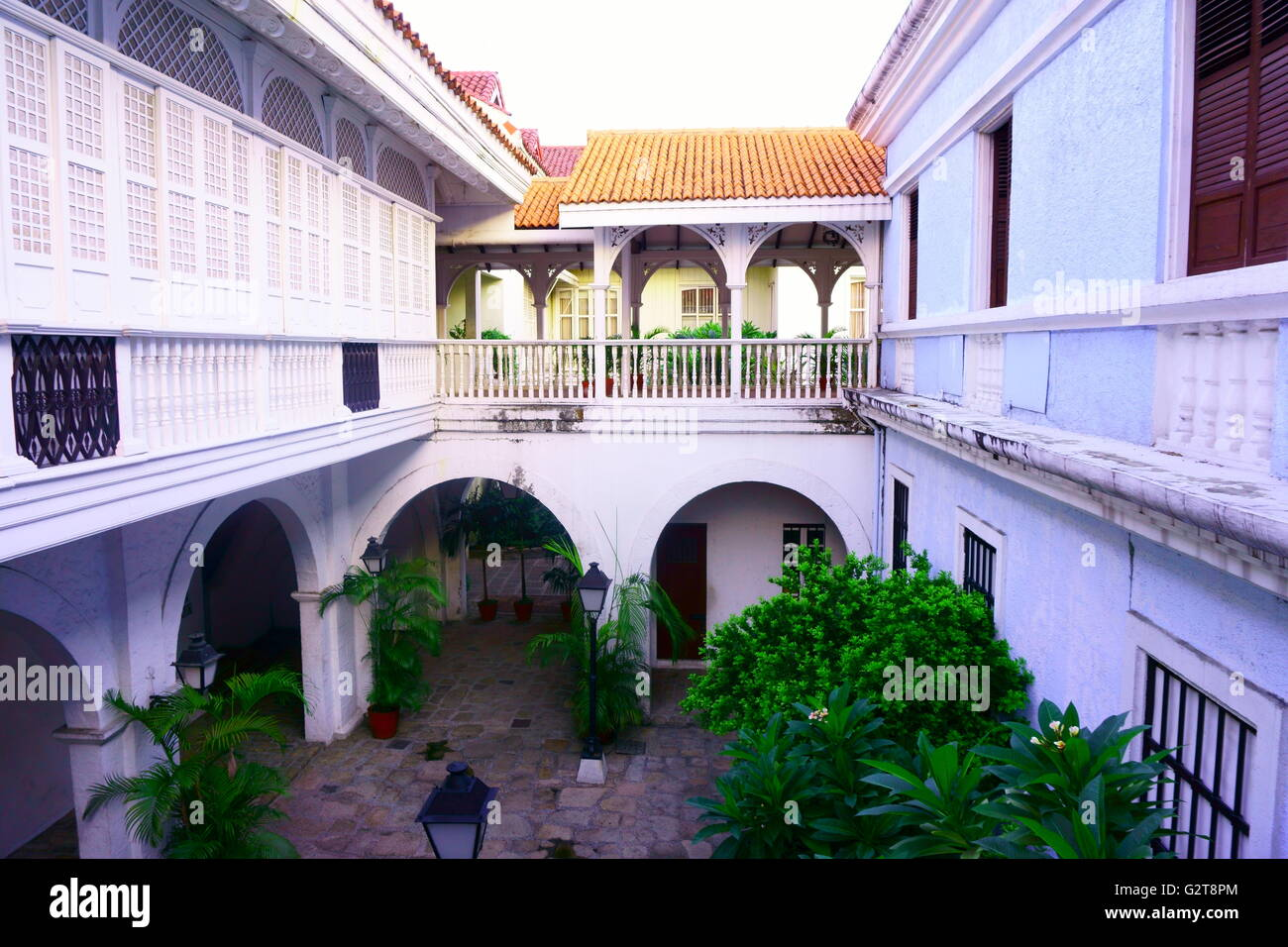 Amazing Architecture Of An Old House With Veranda