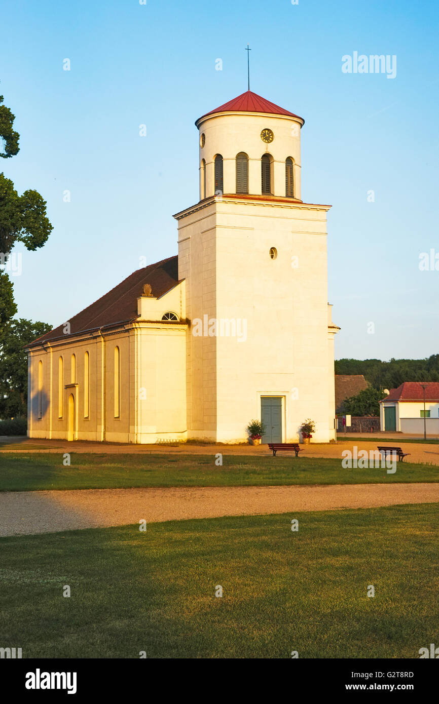 church of Neuhardenberg Stock Photo