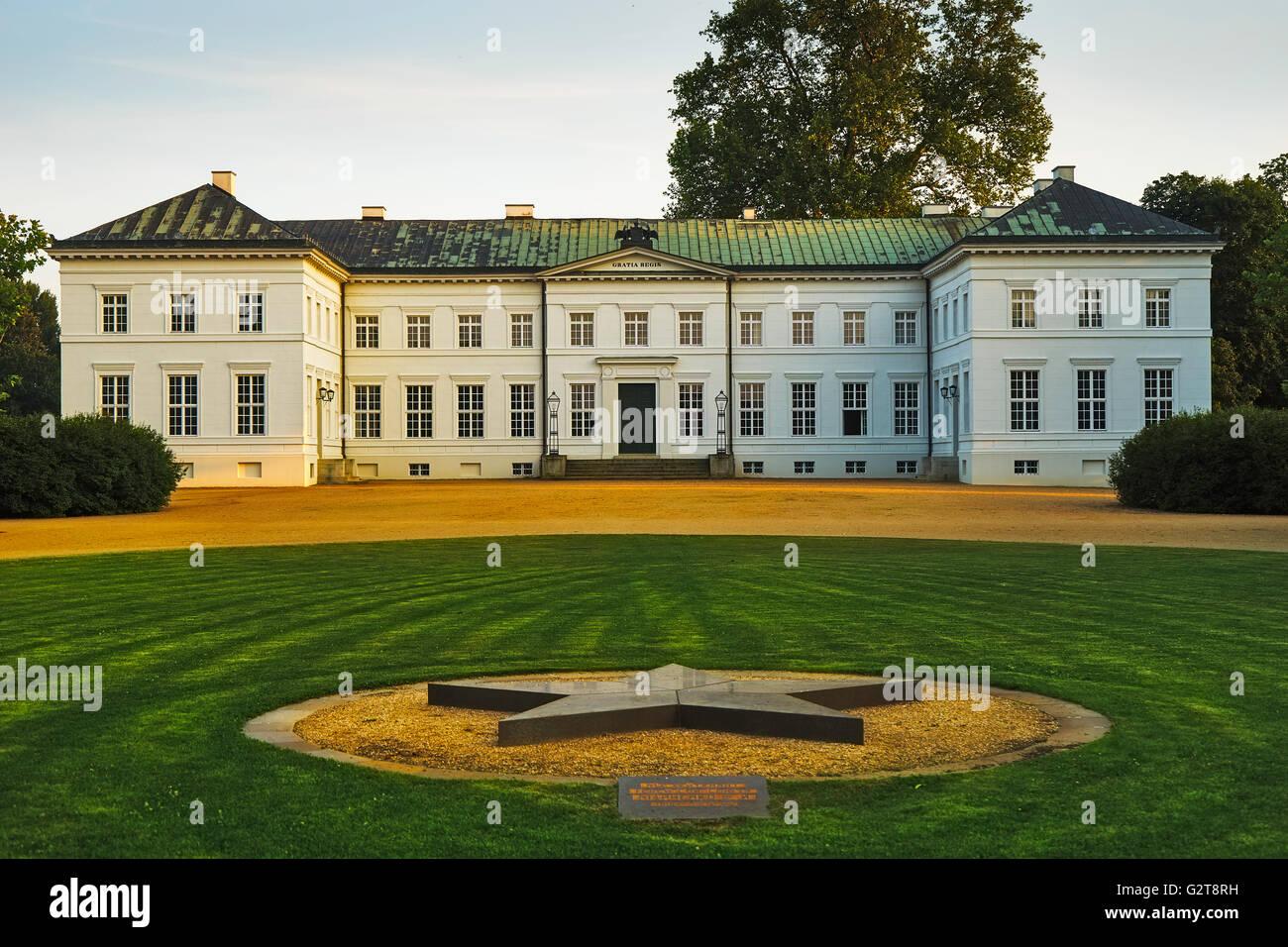 Castle of Neuhardenberg Stock Photo