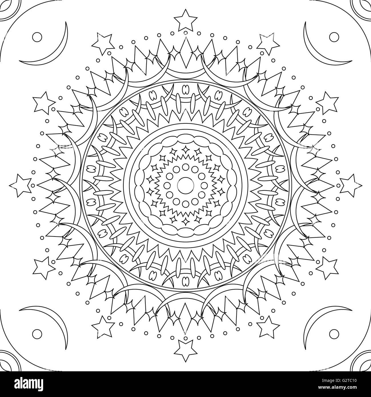 Mandala Pattern Stock Photos & Mandala Pattern Stock Images