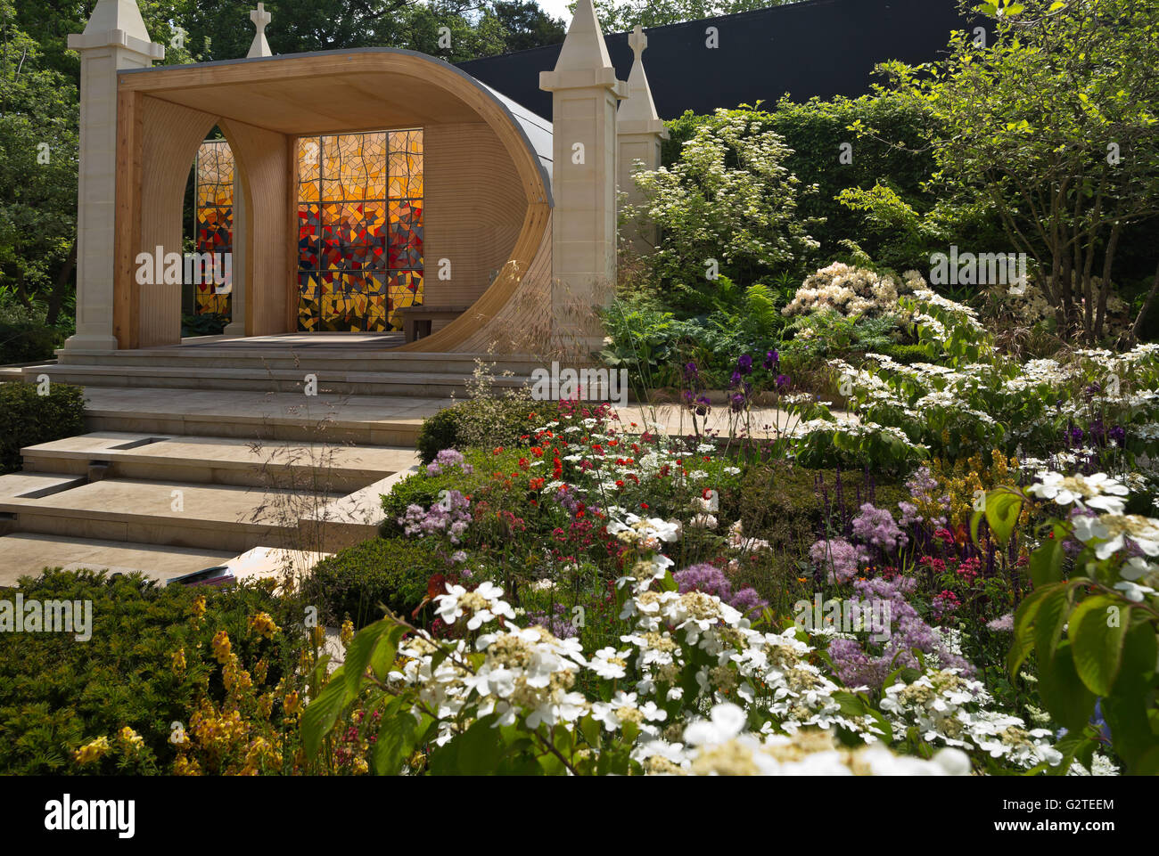 RHS Chelsea Flower Show 2016, God\'s Own County – A Garden for Stock ...