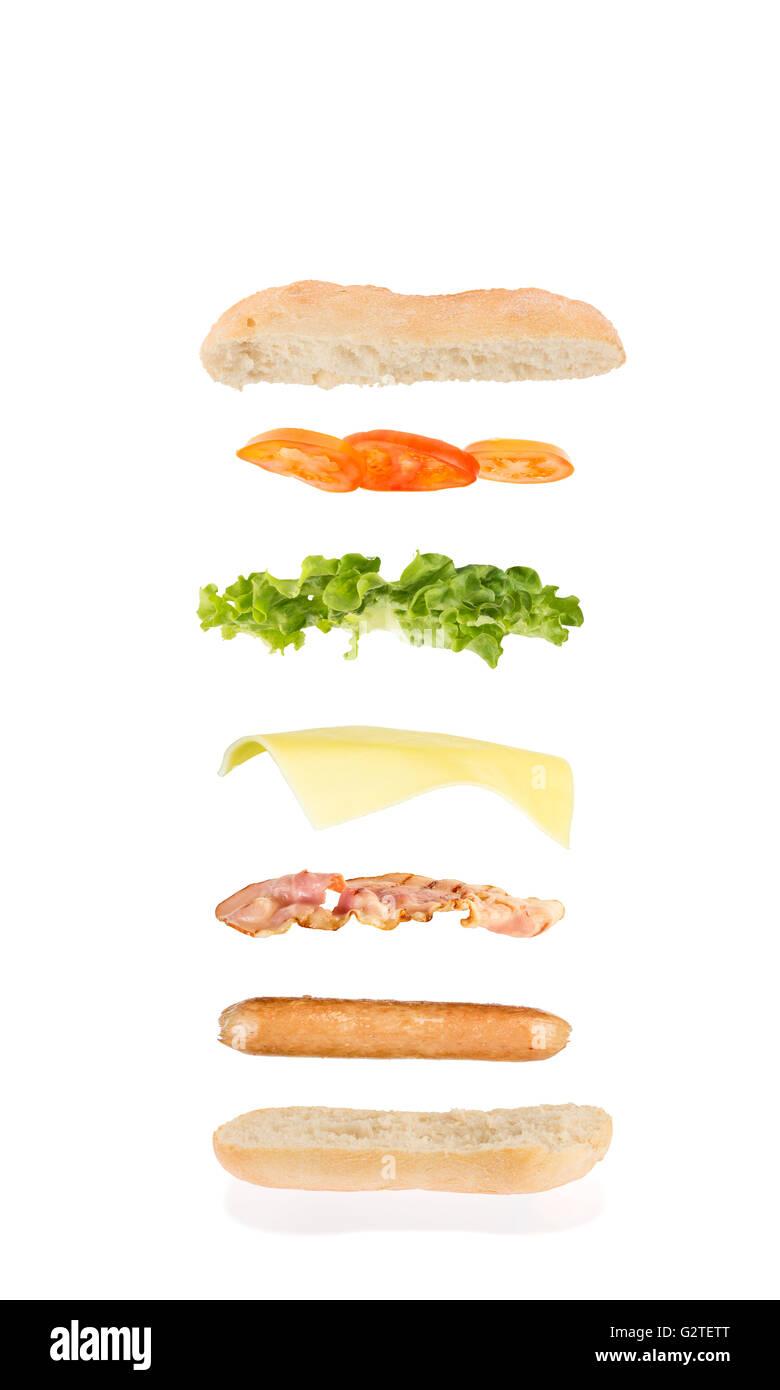 Hot Dog And Hamburger Cut Outs