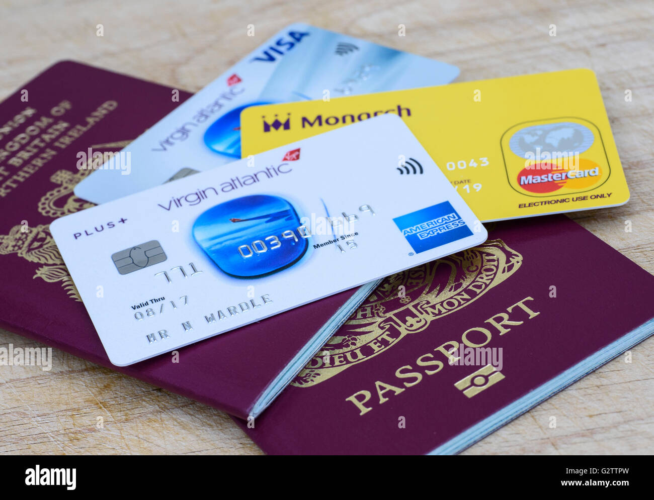 Monarch airlines prepaid euro mastercard virgin atlantic american monarch airlines prepaid euro mastercard virgin atlantic american express and virgin atlantic visa cards and a uk passport reheart Images